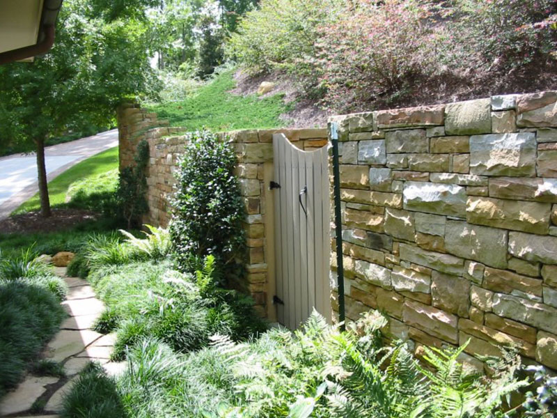 stone landscape wall example 1