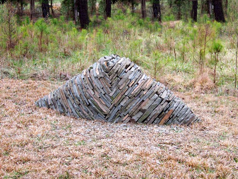 stone mound art